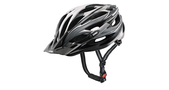 Uvex X-Ride, dark silver-black